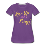 Load image into Gallery viewer, Rise Up Women's T-Shirt - purple