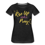Load image into Gallery viewer, Rise Up Women's T-Shirt - charcoal gray