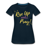 Load image into Gallery viewer, Rise Up Women's T-Shirt - deep navy