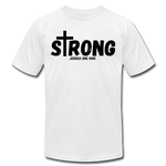 Load image into Gallery viewer, Strong Jersey Men's T-shirt - white