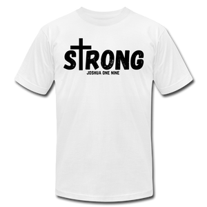 Strong Jersey Men's T-shirt - white