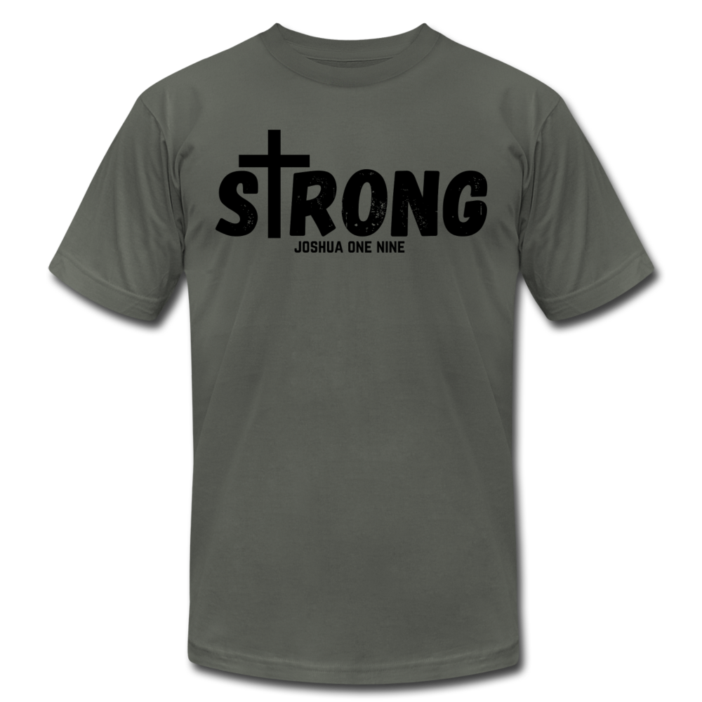 Strong Jersey Men's T-shirt - asphalt