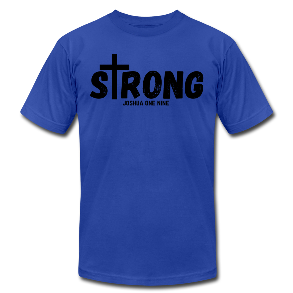 Strong Jersey Men's T-shirt - royal blue