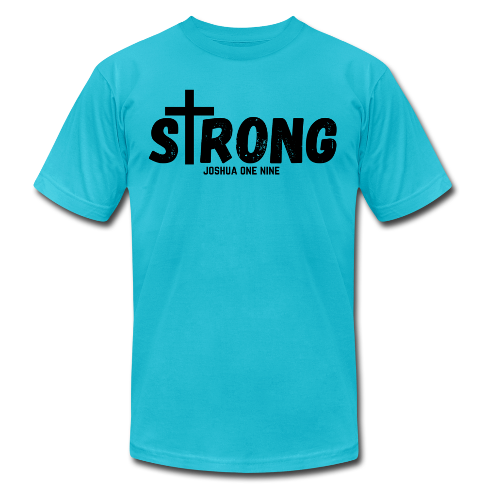 Strong Jersey Men's T-shirt - turquoise