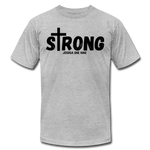 Load image into Gallery viewer, Strong Jersey Men's T-shirt - heather gray