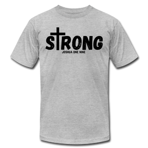 Strong Jersey Men's T-shirt - heather gray