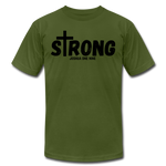 Load image into Gallery viewer, Strong Jersey Men's T-shirt - olive