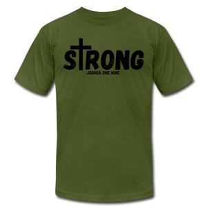 Strong Jersey Men's T-shirt - olive