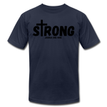 Load image into Gallery viewer, Strong Jersey Men's T-shirt - navy