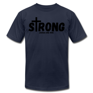 Strong Jersey Men's T-shirt - navy