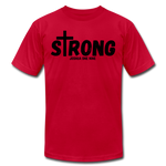 Load image into Gallery viewer, Strong Jersey Men's T-shirt - red