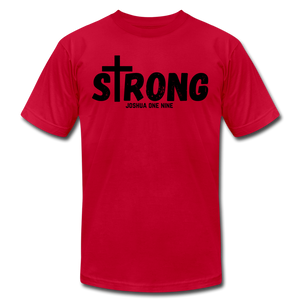 Strong Jersey Men's T-shirt - red