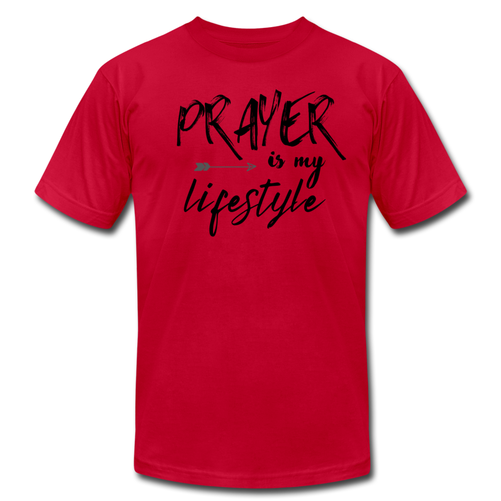 Prayer Men's T-shirt - red