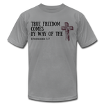 Load image into Gallery viewer, True Freedom Men's T-Shirt - slate
