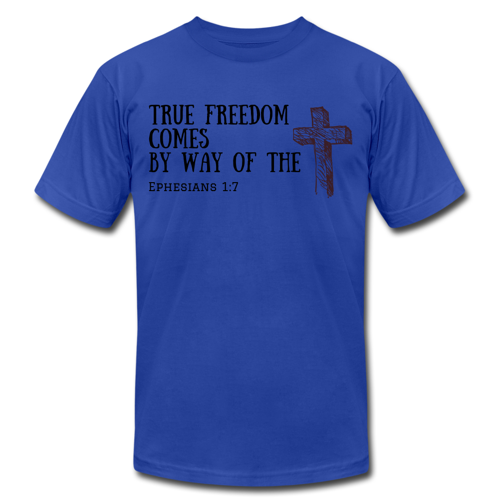 True Freedom Men's T-Shirt - royal blue