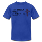 Load image into Gallery viewer, True Freedom Men's T-Shirt - royal blue
