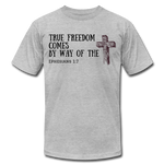 Load image into Gallery viewer, True Freedom Men's T-Shirt - heather gray