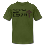 Load image into Gallery viewer, True Freedom Men's T-Shirt - olive