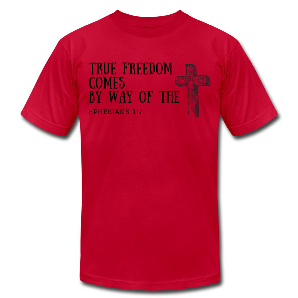 True Freedom Men's T-Shirt - red