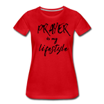 Load image into Gallery viewer, Prayer Women's T-Shirt - red