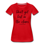 Load image into Gallery viewer, Chaos Women's T-Shirt - red
