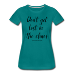 Load image into Gallery viewer, Chaos Women's T-Shirt - teal