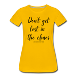 Load image into Gallery viewer, Chaos Women's T-Shirt - sun yellow
