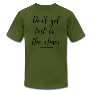 Chaos Unisex T-Shirt - olive