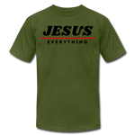 Load image into Gallery viewer, Jesus Over Everything Unisex T-Shirt - olive