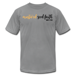 Load image into Gallery viewer, Mustard Seed Unisex T-Shirt - slate
