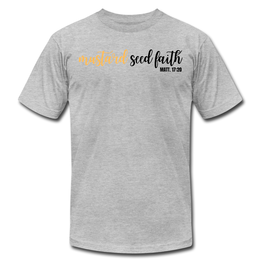 Mustard Seed Unisex T-Shirt - heather gray