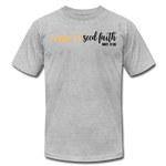 Load image into Gallery viewer, Mustard Seed Unisex T-Shirt - heather gray