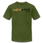 Load image into Gallery viewer, Mustard Seed Unisex T-Shirt - olive