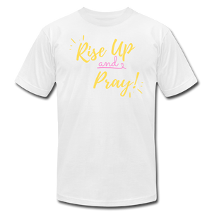 Rise Up Unisex T-Shirt - white