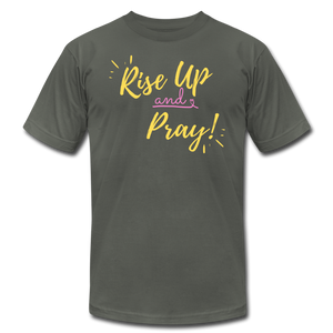 Rise Up Unisex T-Shirt - asphalt