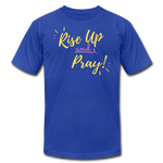 Load image into Gallery viewer, Rise Up Unisex T-Shirt - royal blue