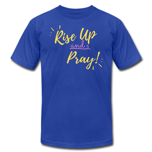 Rise Up Unisex T-Shirt - royal blue