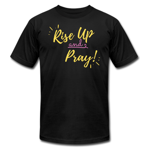 Rise Up Unisex T-Shirt - black