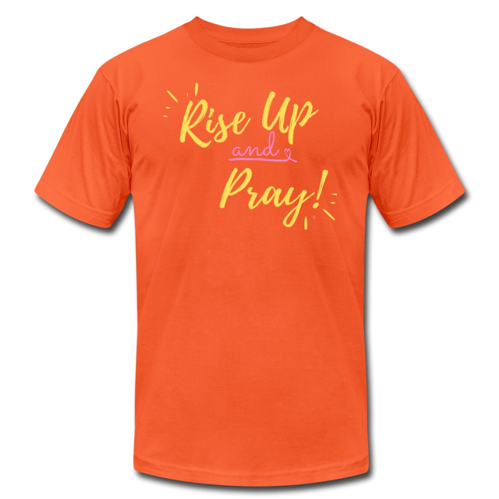 Rise Up Unisex T-Shirt - orange
