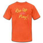 Load image into Gallery viewer, Rise Up Unisex T-Shirt - orange