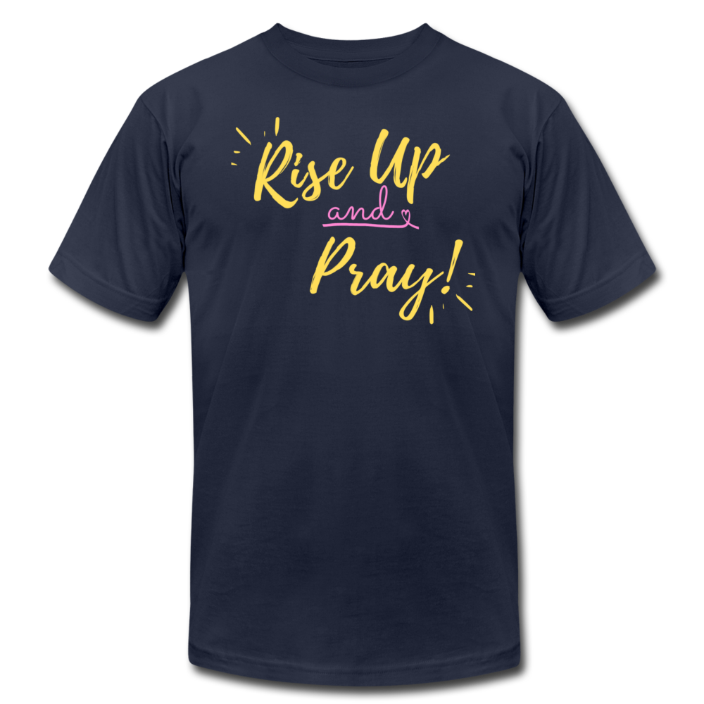 Rise Up Unisex T-Shirt - navy