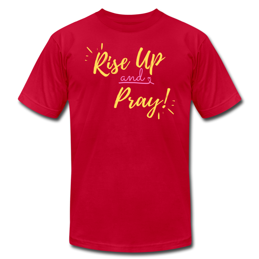 Rise Up Unisex T-Shirt - red