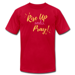Load image into Gallery viewer, Rise Up Unisex T-Shirt - red
