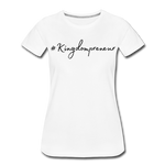 Load image into Gallery viewer, Kingdompreneur Women's T-Shirt - white