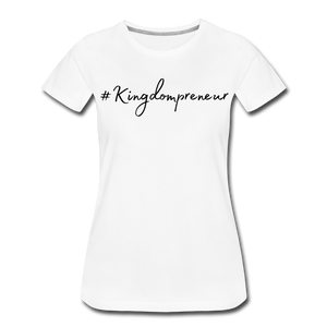 Kingdompreneur Women's T-Shirt - white