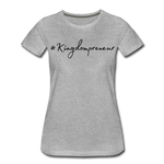 Load image into Gallery viewer, Kingdompreneur Women's T-Shirt - heather gray