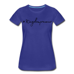 Load image into Gallery viewer, Kingdompreneur Women's T-Shirt - royal blue