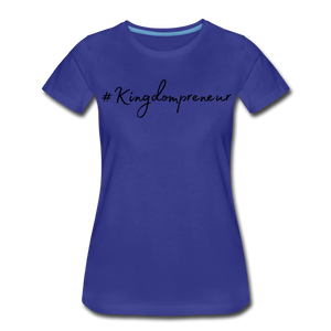 Kingdompreneur Women's T-Shirt - royal blue