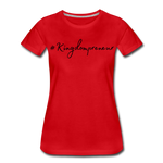 Load image into Gallery viewer, Kingdompreneur Women's T-Shirt - red