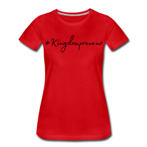 Kingdompreneur Women's T-Shirt - red
